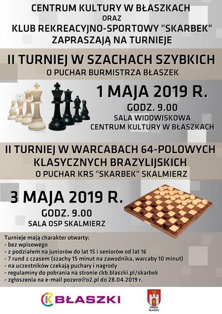 Błaszki @ II Turniej Szachowy o Puchar Burmistrza Błaszek