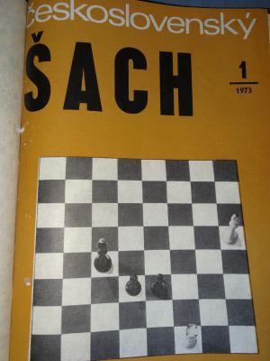 28# Ceskoslovensky SACH rocznik 1973 UNIKAT!